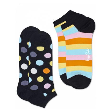 Happy Socks 2-Pack Big Dot Low Sock-7.5-11.5 farebné BDO02-9300-7.5-11.5