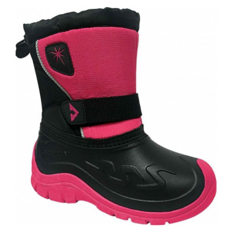 Crossroad CLOUD ružová - Detská zimná obuv