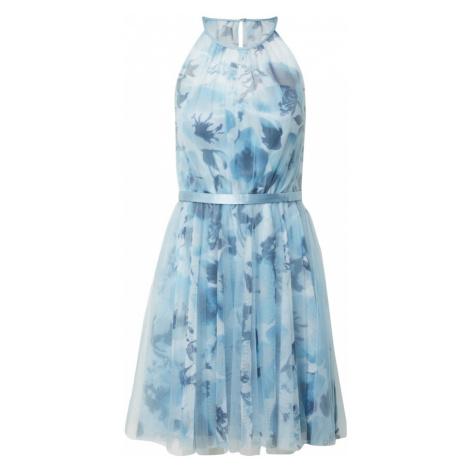 Vera Mont Večerné šaty  svetlomodrá / biela
