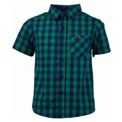 Lewro OLIVER zelená - Chlapčenská košeľa