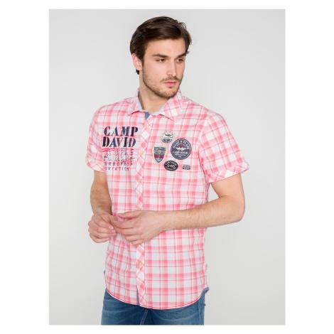 Košile Camp David Růžová