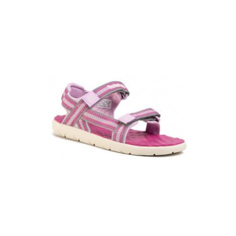 Timberland Sandále Perkins Row Webbing Sndl TB0A1QHFD56 Ružová