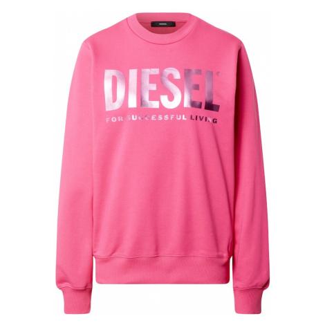 DIESEL Mikina 'F-ANG'  ružová / fialová