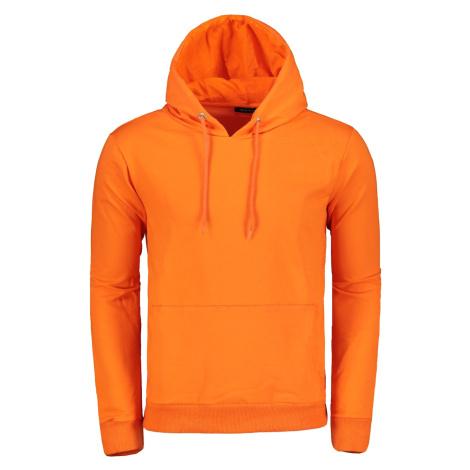 Trendyol Orange Men's Hooded Kangaroo Pocket Long Sleeve New Sweatshirt