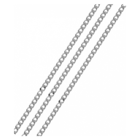 Brilio Silver Strieborná retiazka pancier cm 086 04