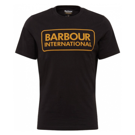 Barbour International Tričko 'Essential Large Logo Tee'  čierna