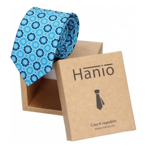 Modré pánske kravaty