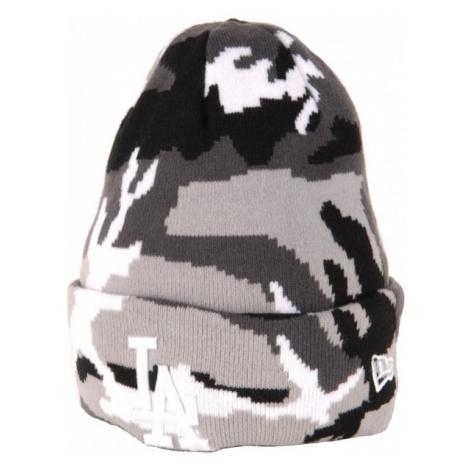 New Era MLB LOS ANGELES DODGERS šedá - Klubová zimná čiapka