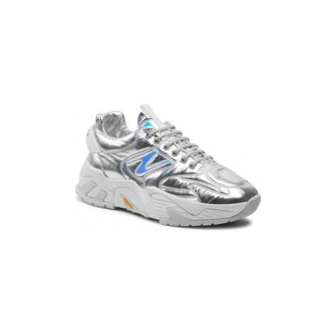 Iceberg Sneakersy Kakkoi 21EID1808A Strieborná