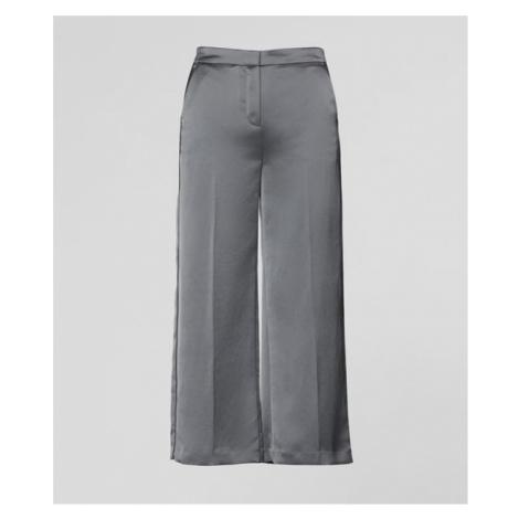 Nohavice Karl Lagerfeld Cropped Wide Leg Pants