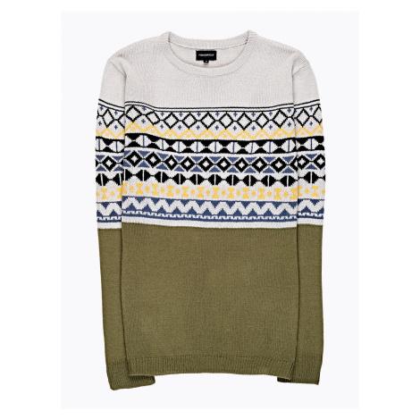GATE Vzorovaný sveter