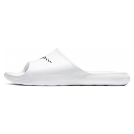 NIKE Plážové / kúpacie topánky  biela / čierna