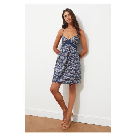 Trendyol Multicolor Lace Detailed Strap Dress