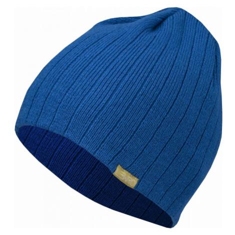 Lewro ARTICUNO modrá - Chlapčenská pletená čiapka