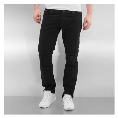 Rocawear / Straight Fit Jeans Quilted in black - Veľkosť:30
