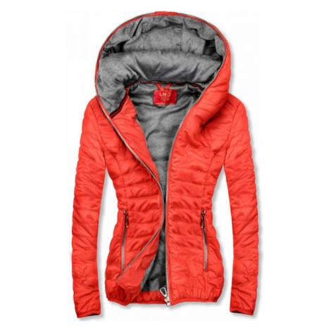 Oranžová športová bunda