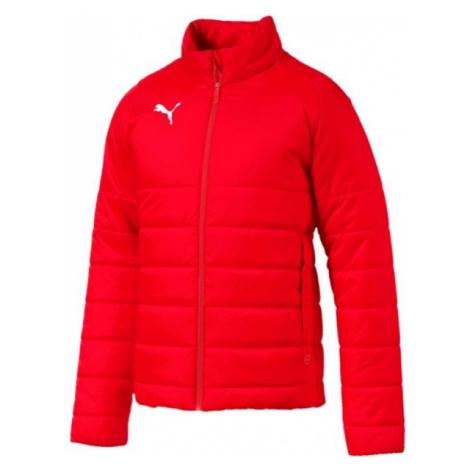 Puma LIGA CASUALS PADDED JACKET červená - Pánska zimní bunda