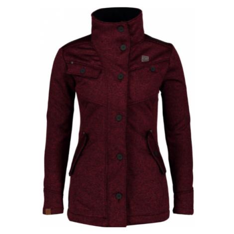 Dámsky svetrovy softshellový kabát NORDBLANC Due NBWSL6599_ZPV