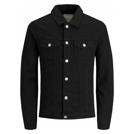 JACK & JONES Prechodná bunda  čierna