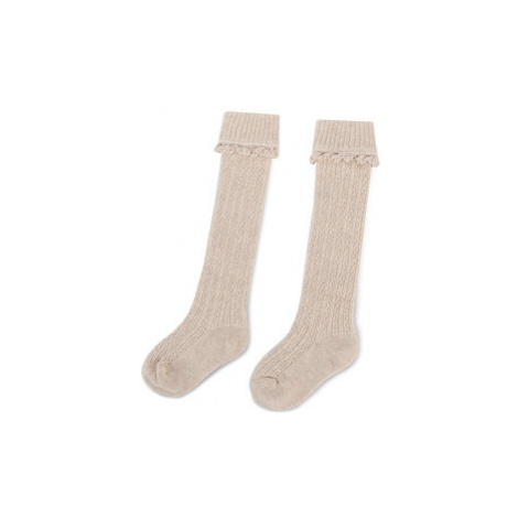 Mayoral Vysoké detské ponožky 10679 Béžová