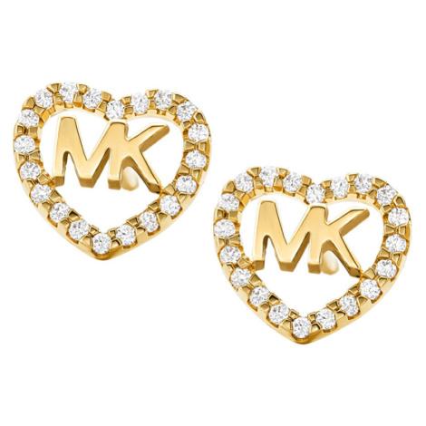 Michael Kors Strieborné srdiečkové náušnice MKC1243AN710