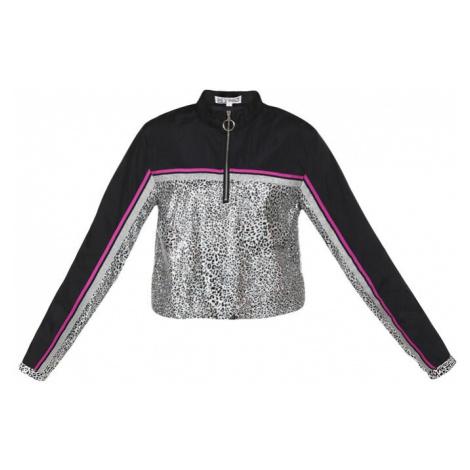 myMo ATHLSR Športová bunda  ružová / čierna / biela