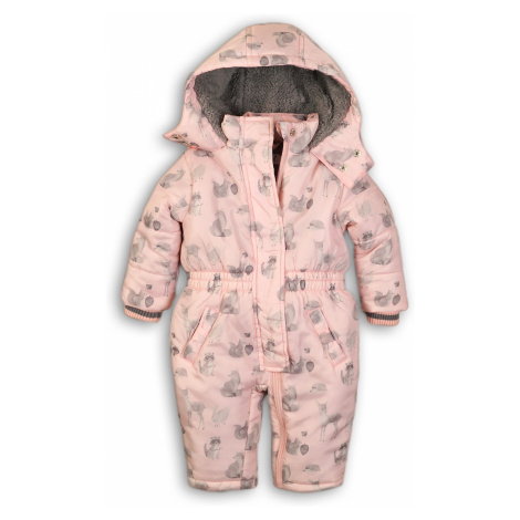 DIRKJE Kombinéza s kapucňou B-SO SOFT LOVE 62 Pink