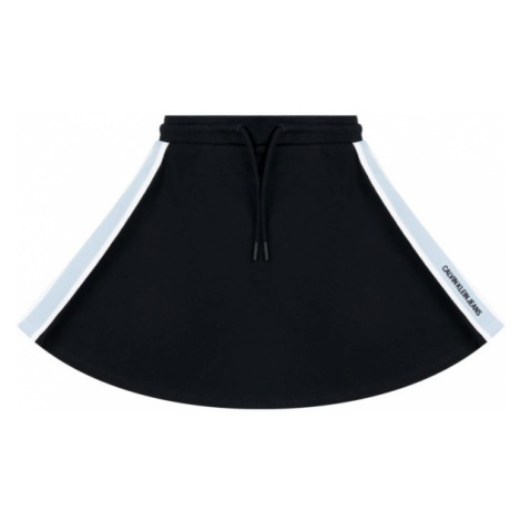 Calvin Klein Jeans Sukňa IG0IG00199 Čierna Regular Fit
