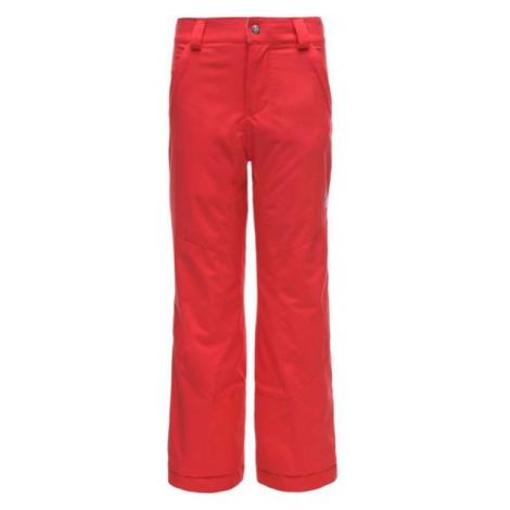 Spyder VIXEN REGULAR PANT červená - Dievčenské lyžiarske nohavice