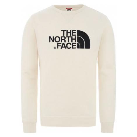 The North Face M Drew Peak Crew - Eu Vintage White/Tnf Black-M biele NF0A2ZWRL0E-M