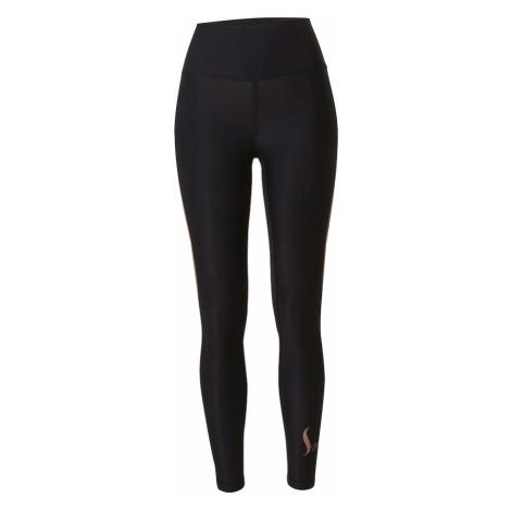 Casall Športové nohavice  čierna / púdrová