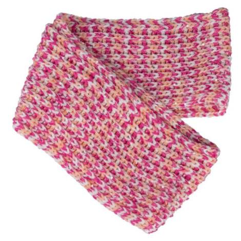Lewro PRUNELLA ružová - Dievčenský pletený šál