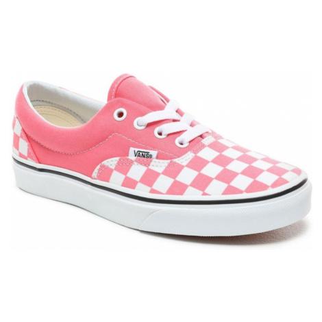 Topánky Vans Era checkerboard strawberry