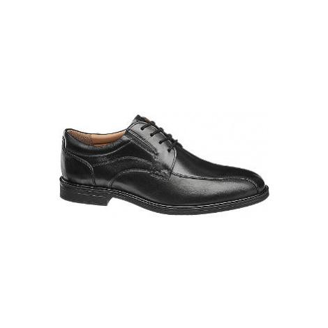 Čierna spoločenská obuv Claudio Conti