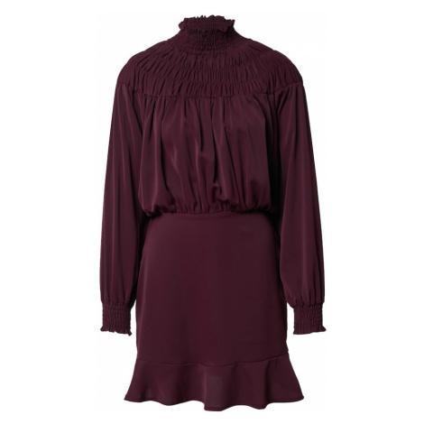 AX Paris Šaty  slivková / farba lesného ovocia