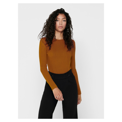 Hnedý sveter ONLY Natalia