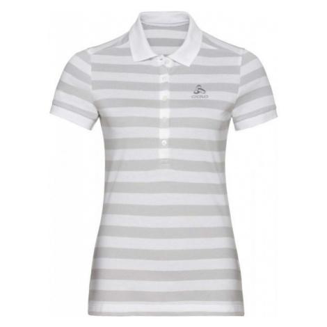 Odlo WOMEN'S T-SHIRT POLO S/S CONCORD biela - Dámske tričko