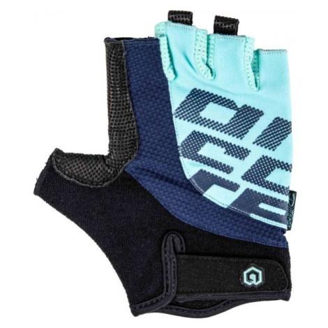 Arcore MUSKOX modrá - Krátkoprsté cyklistické rukavice