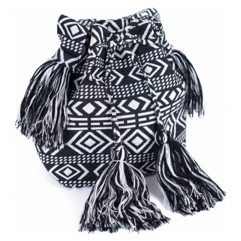 Art Of Polo Woman's Bag Tr18192 Black/White
