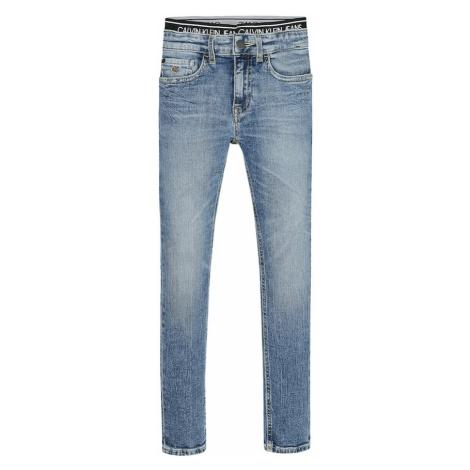 Calvin Klein Jeans Džínsy 'SKINNY VINTAGE LIGHT BLUE'  modrá