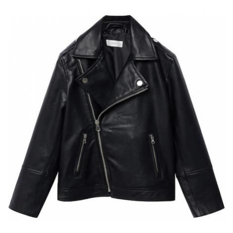 MANGO KIDS Prechodná bunda 'Perfecto'  čierna