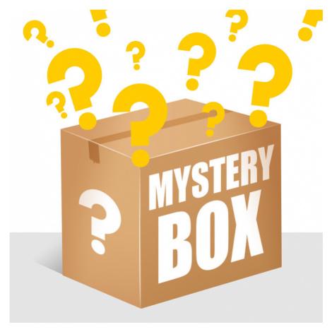 MYSTERY BOX - 3PACK pánske trenky Styx športová guma