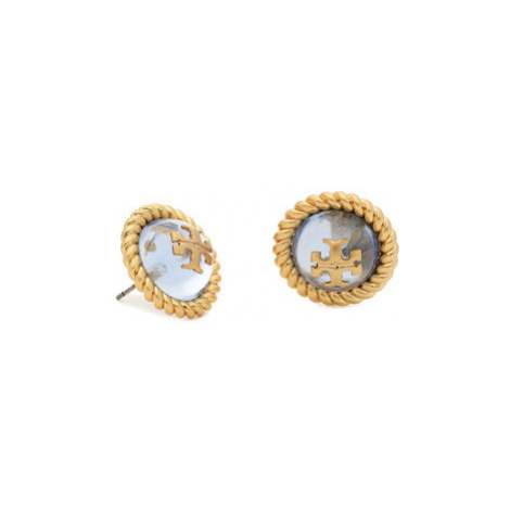 Tory Burch Náušnice Kira Glass Stud Earring 70571 Zlatá