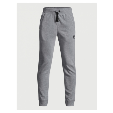 Tepláky Under Armour Eu Cotton Fleece Jogger Šedá