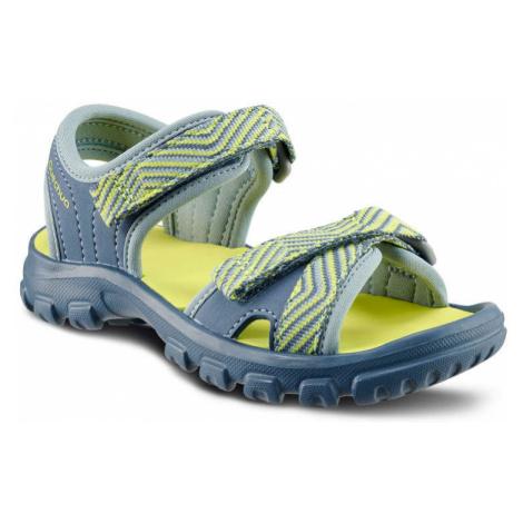 QUECHUA Detské Sandále Mh100 Modré
