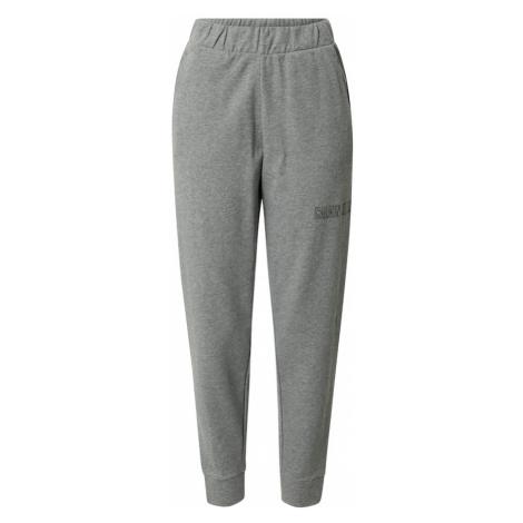 Calvin Klein Performance Športové nohavice  sivá melírovaná