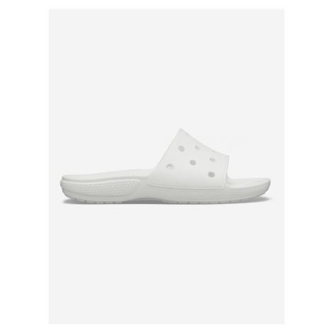 Classic Pantofle Crocs Biela