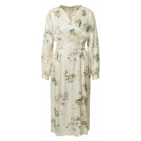 Closet London Šaty  krémová / zmiešané farby