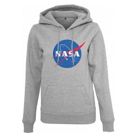 Merchcode Mikina 'NASA Insignia'  modrá / sivá melírovaná