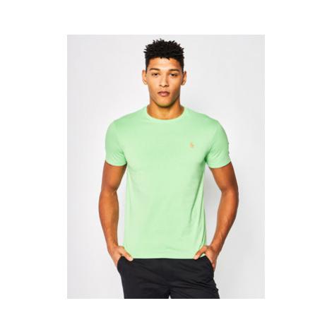 Polo Ralph Lauren Tričko 710671438 Zelená Custom Slim Fit